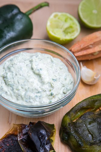 Roasted Poblano Crema