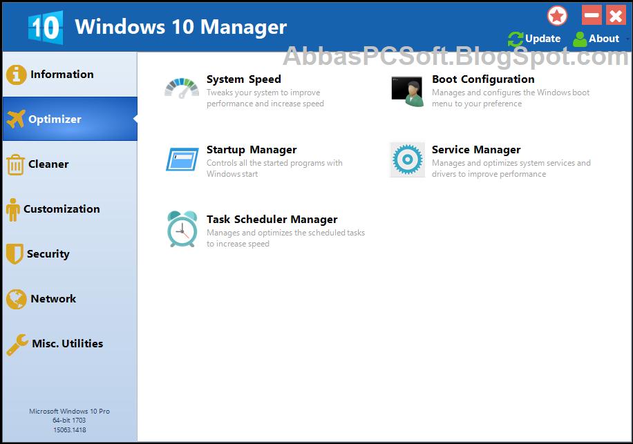 Windows 10 Manager 3 1 2 With Keygen (Latest Version) - AbbasPC Software