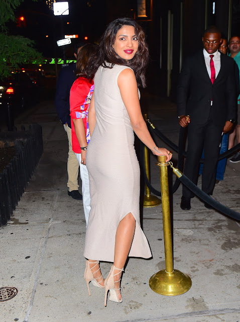 Priyanka Chopra Looks Sexy As She Arrives At 'Cipriani Wall Street' in New York City