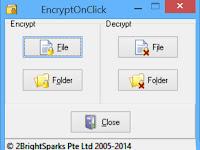EncryptOnClick, Cara Mudah Lindungi Data Penting