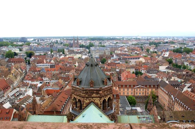 Vista Panoramica di Strasburgo dalla Balconata della Cattedrale