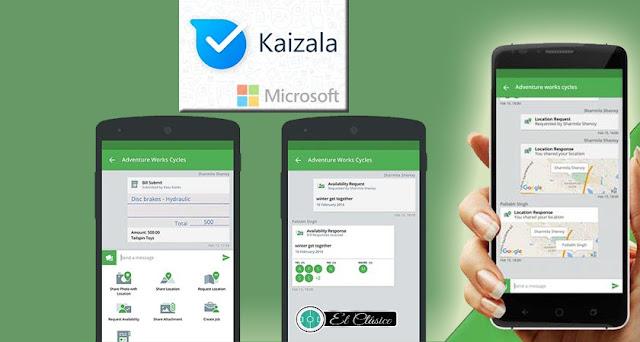 kaizala,microsoft kaizala,كايزالا,شرح kaizala,microsoft kaizala app,microsoft kaizala app not connect