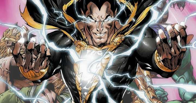 Dwayne Johnson tendría una película de Black Adam