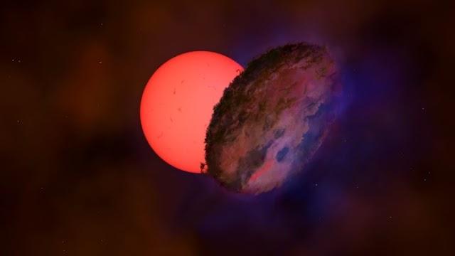 Γιγάντιο άστρο που «αναβοσβήνει» κοντά στο κέντρο του γαλαξία μας
