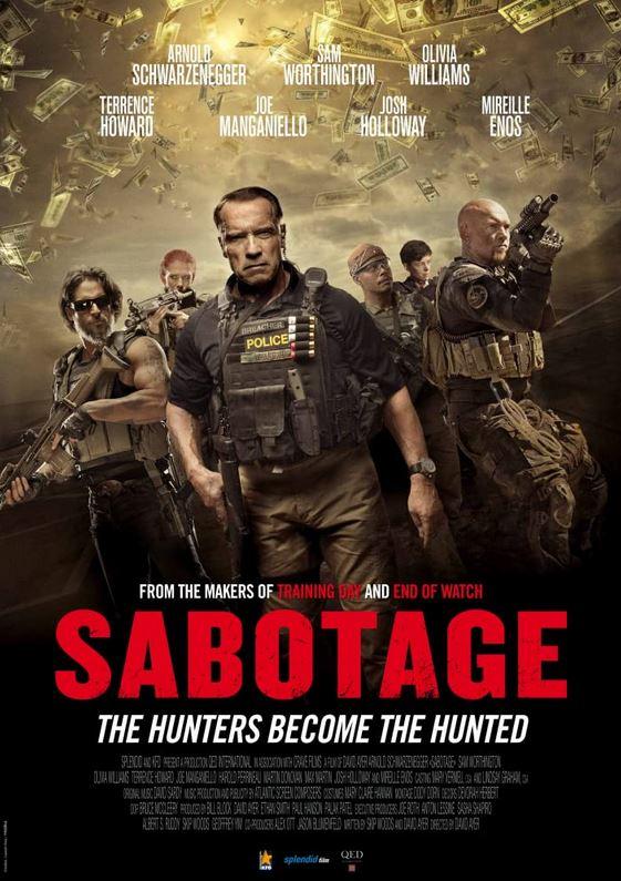 Sabotage, Action, Drama, Crime, Thriller, Netflix, Movie Review by Rawlins, Rawlins GLAM, Rawlins Lifestyle