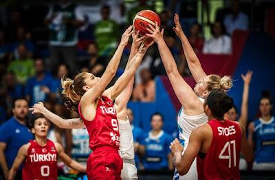 Eurobasket Women 2019 - Türkiye - Slovenya