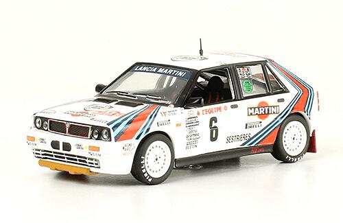 collezione rally monte carlo Lancia Delta HF 4WD 1987 Miki Biasion - Tiziano Siviero