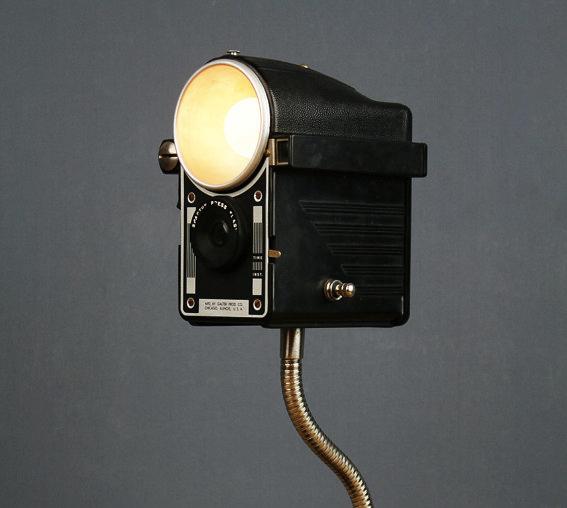Camera Light Fixture: FleaChic: Flea Market Savvy