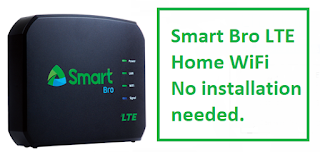 Smart Bro LTE Home WiFi and List of Home Boost Promo