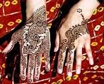 Cetakan Henna Pengantin, Cara Praktis Menggunakan Henna