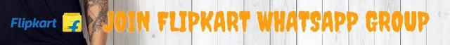 flipkart whatsapp group
