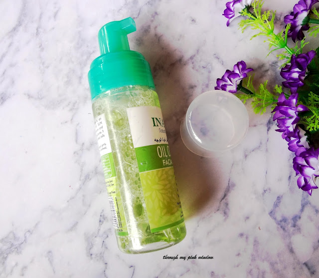 Review of Inatur herbal Oil Control Facial Foam