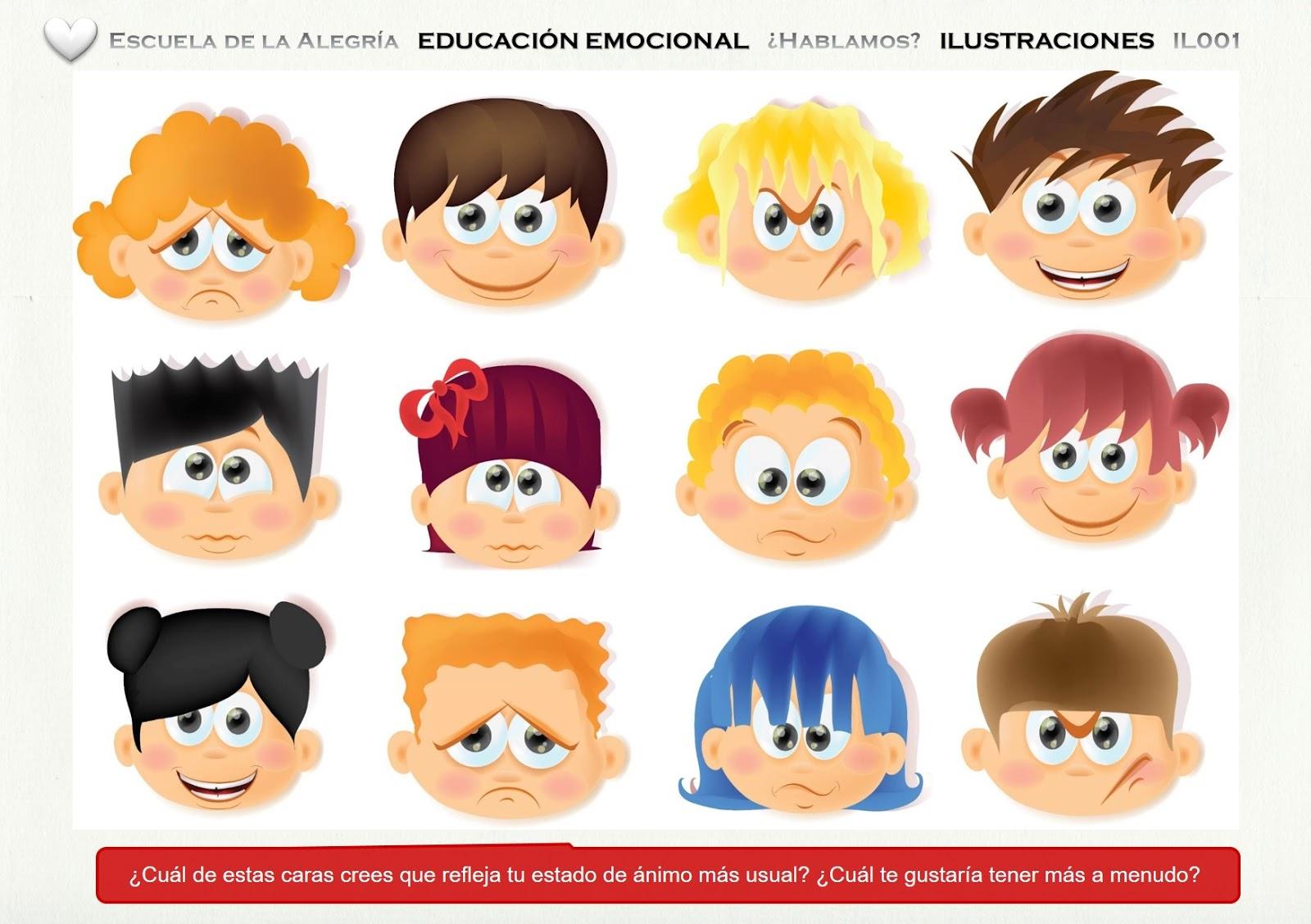 La Inteligencia Emocional En Los Niños.: EDUCACIÓN