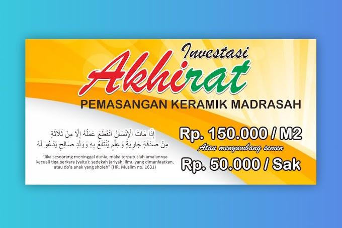 Download Desain Banner Investasi Akhirat
