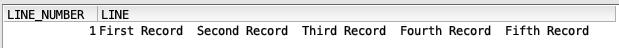 Read IFS file in SQL