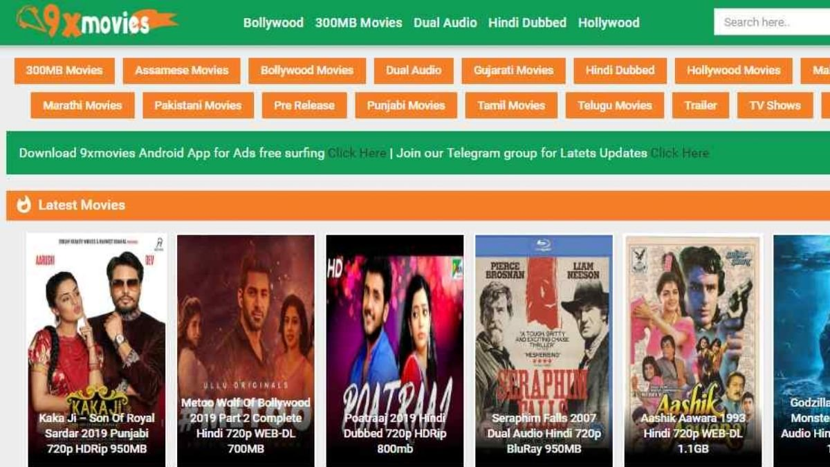 9xmovies 2020 9xmovies Bollywood Movies Illegal Download Website