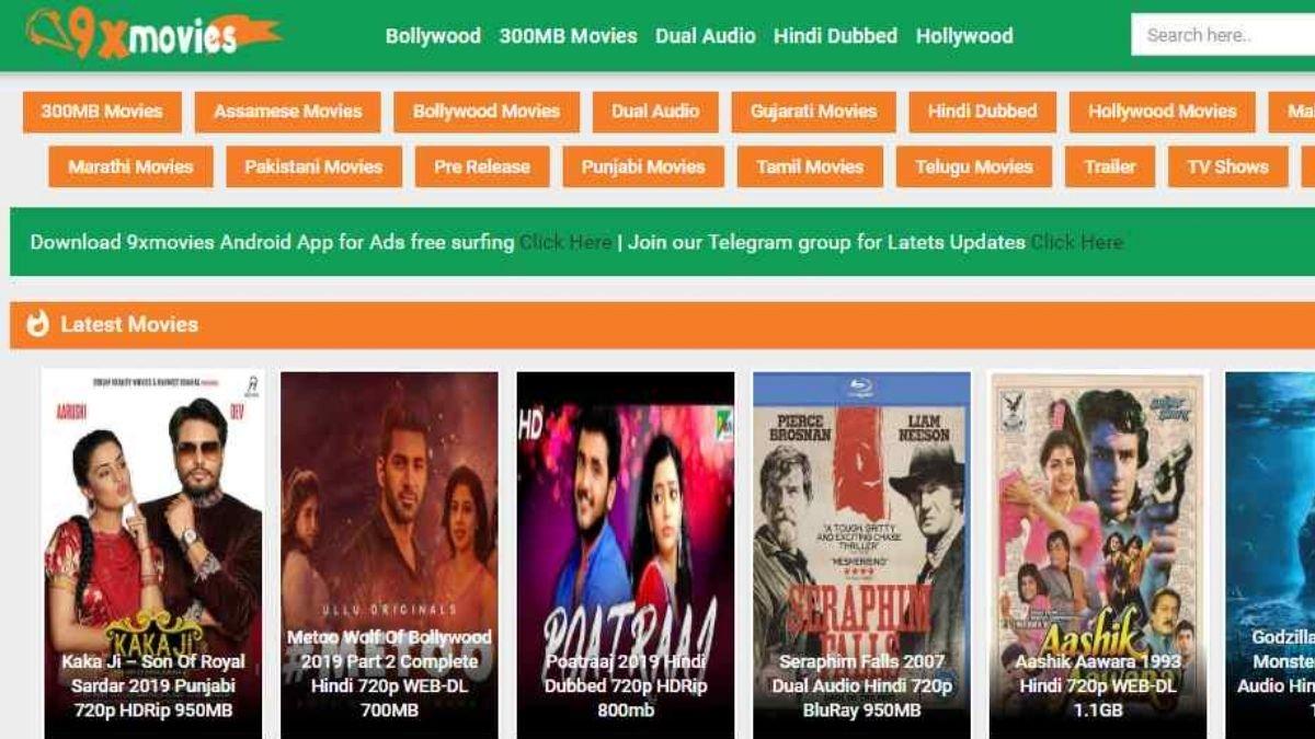 9xmovies 2020 9xmovies Bollywood Movies Illegal Download Website Hollywood Dual Audio 9x Movies Latest 9xmovie Movies