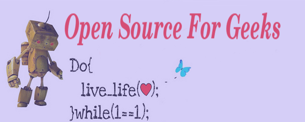 Open Source For Geeks