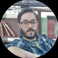 Jaume Vincent con gafas