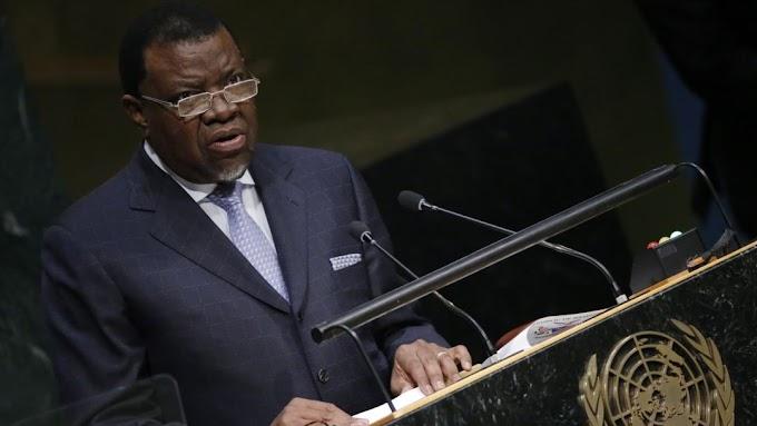 رئيس ناميبيا يدعو إلى تطبيق قرار مجلس الأمن 690 في الصحراء الغربية لإستكمال جهود الأفارقة في إنهاء مظاهر الإستعمار في إفريقيا.