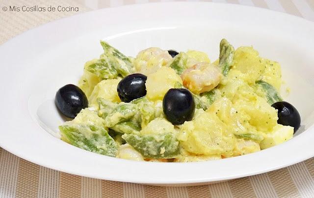 ensalada-con-judias-verdes