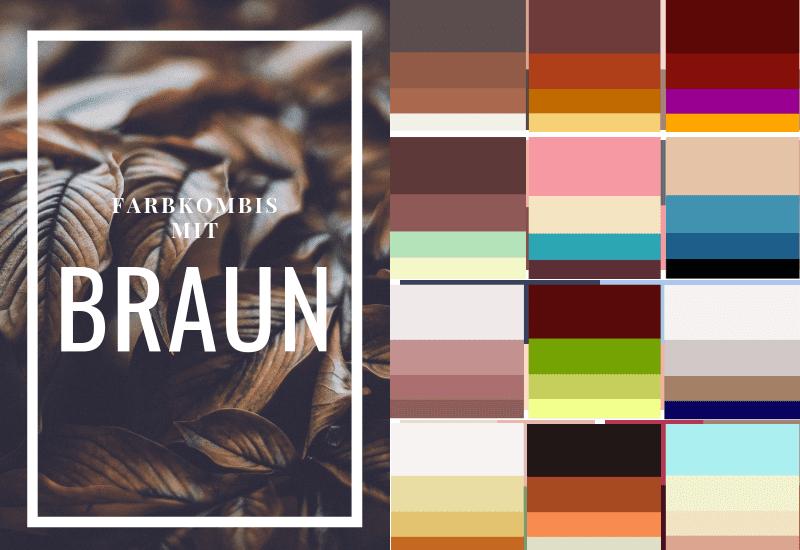 Braun-kombinieren-Braun-Farbschema