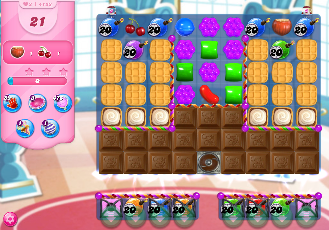 Candy Crush Saga level 4152