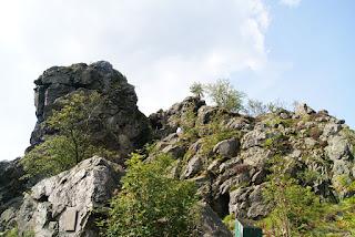 Blick auf den Felsstein