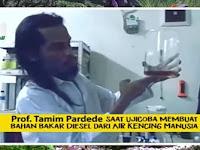 """Ilmuwan """"Bandel"""" Prof. Tamim Pardede Klaim Formulasi Temuannya Lumpuhkan Corona; Tantang WHO Uji Lab?"""