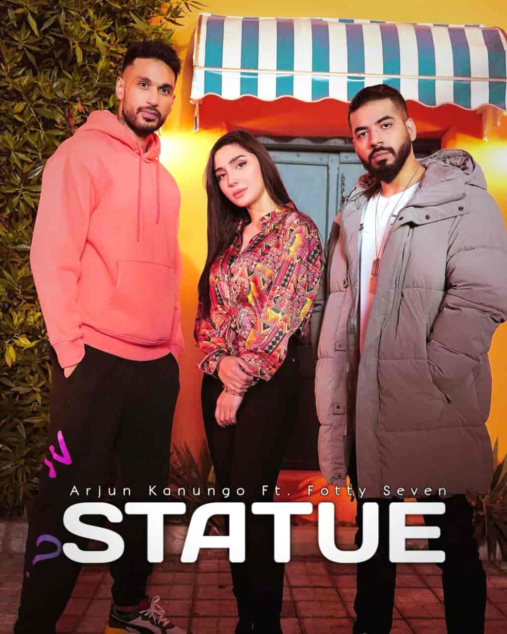 Statue Hindi Rap Song Image Features Arjun Kanungo and Fotty Seven