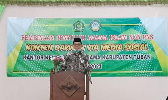 """Konten Dakwah Via Media Sosial"" Penyuluh Tuban"
