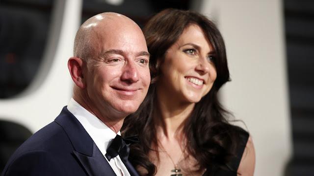 Divorcio histórico: El fundador de Amazon se dispone a pagar 38.000 millones de dólares a su exmujer