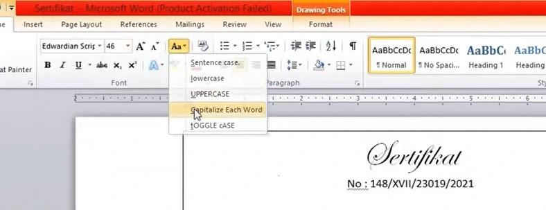 Mailing Merge Di Microsoft Word