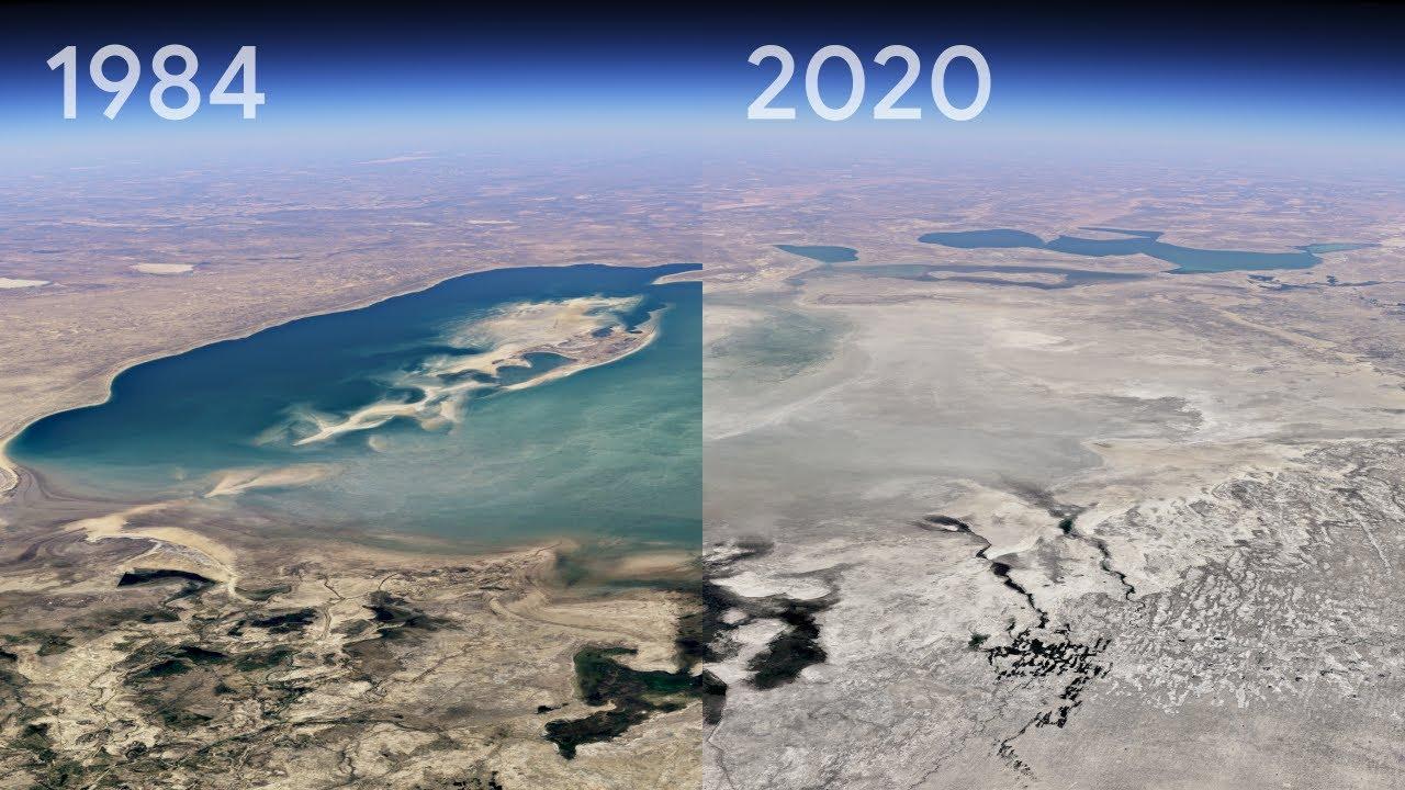 EEntdecke Timelapse in Google Earth | Ein Mega-Update zeigt uns die Veränderung unseres Planeten