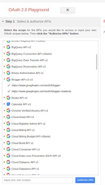 Cara Mendapatkan OAuth 2 API Token untuk Semua Layanan Google