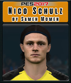 PES 2017 Faces Nico Schulz by Sameh Momen