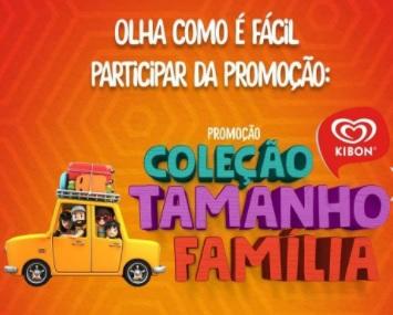 Promoção Kibon Coleção Tamanho Família Ganhe Copo Exclusivo - 4 Modelos Copos Colecionar