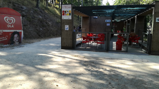 Bar da Praia Fluvial da Queimadela
