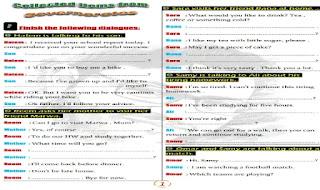 المراجعة النهائية فى اللغة الانجليزية للصف الثالث الاعدادى مجابة الترم الاول 2020 مستر عبدالرحيم حسن موقع درس انجليزي المراجعة النهائية بحلولها النموذجية انجليزي تالتة اعدادى ترم اول