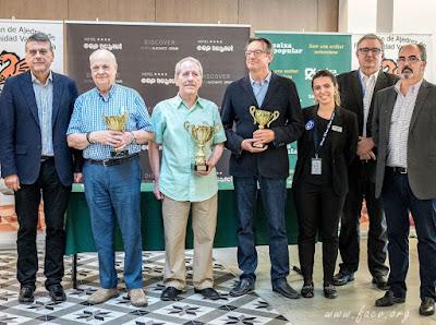 Podium del Campeonato de España de Veteranos 2018