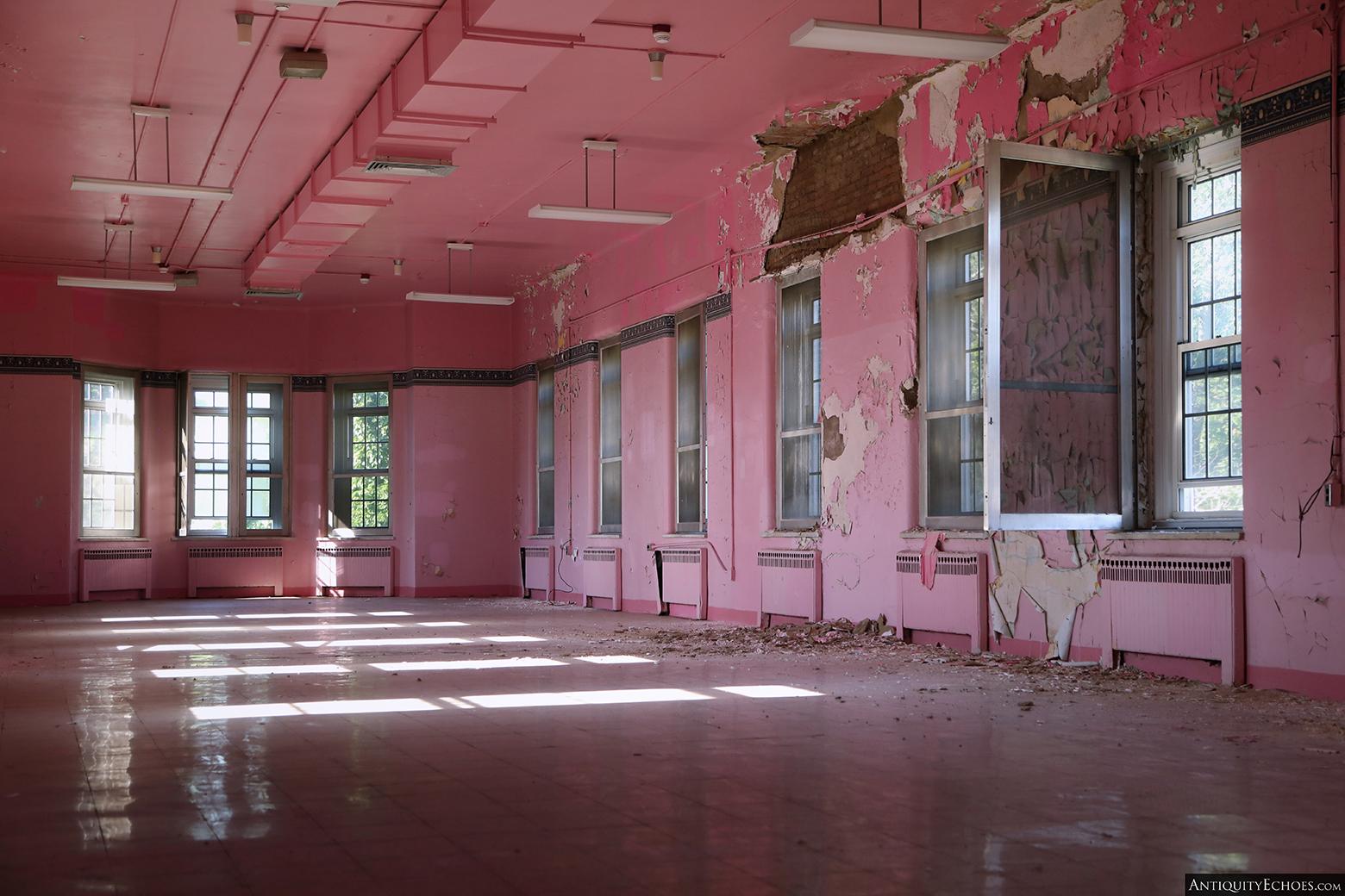 Allentown State Hospital - Top Floor Pink Ward