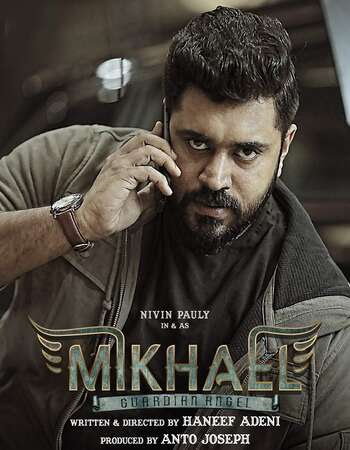 Poster Of Mikhael In Dual Audio Hindi Malayalam 300MB Compressed Small Size Pc Movie Free Download Only At worldfree4u.com