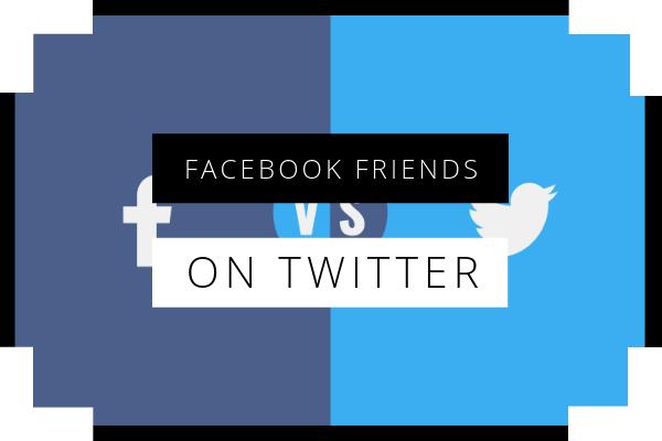 Find Facebook Friends On Twitter<br/>
