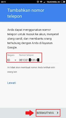 Contoh Cara Daftar Email Gmail Baru di Hp Android Lengkap