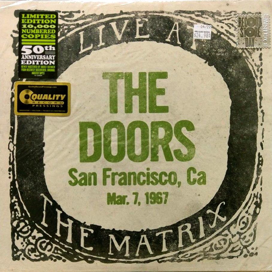 Cun Cun Revival The Doors 2017 Live At The Matrix