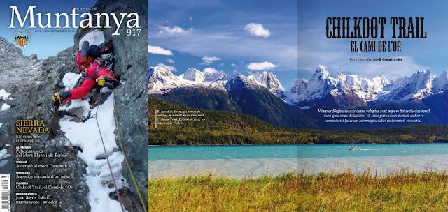 Reportatge Chilkoot Trail a revista Muntanya