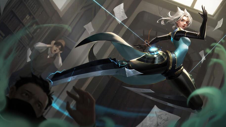 Camille, League of Legends, 4K, #7.2627