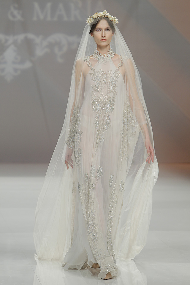 vestido novia original marco maria barcelona bridal week