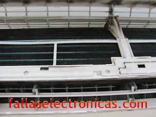 como quitar los filtros de aire acondicionado