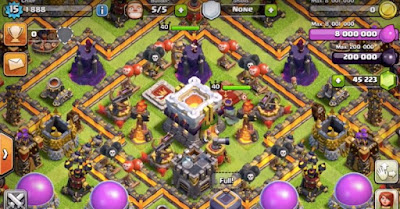 town hall , coc , clash of clans